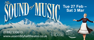Sound of Music - The Assembly Hall - 27 Feb -3 March