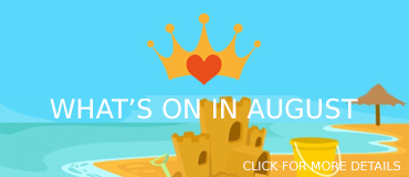 View August Events - banner from Freepix