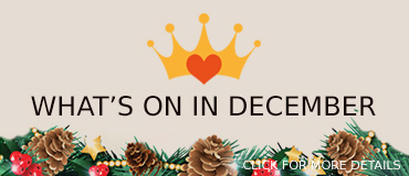 What is on in December - banner from Freepix