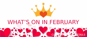 View February Events - banner from Freepix