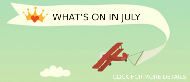 View July Events - banner from Freepix