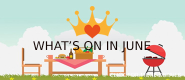 View June Events - banner from Freepix