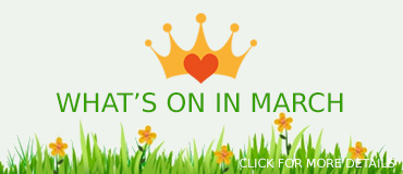 View March Events - banner from Freepix