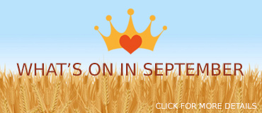 View September Events - banner from Freepix
