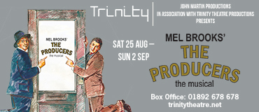 The Producers : Trinity : 25 Augusts to 2 September 2018