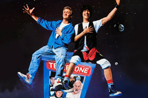 Odeon Cinema : Bill and Ted's Excellent Adventure