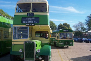 Bluebell Railway : Vintage Bus Running Day