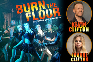 Assembly Hall Theatre : Burn The Floor: Kevin & Joanne Clifton