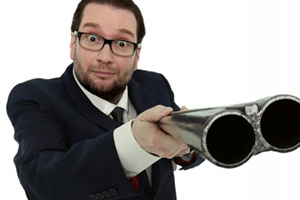 Trinity Theatre : Gary Delaney: Gagster's Paradise