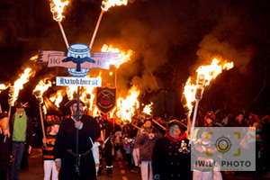 Hawkhurst : Hawkhurst Gang Bonfire Society Procession and Fireworks