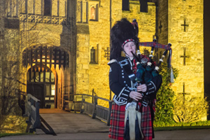 Hever Castle : Burn's Night Celebration