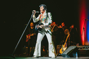 Hever Festival Theatre : One Night of Elvis: Lee Memphis King