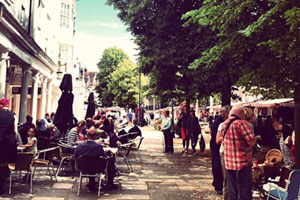 The Pantiles : Pantiles Christmas Market