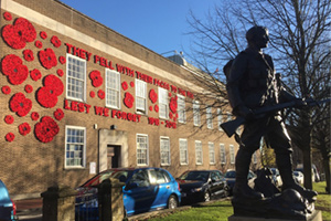 Tunbridge Wells Town Centre : Remembrance Sunday
