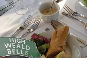 Spa Valley Railway : High Weald Belle: Christmas Menu